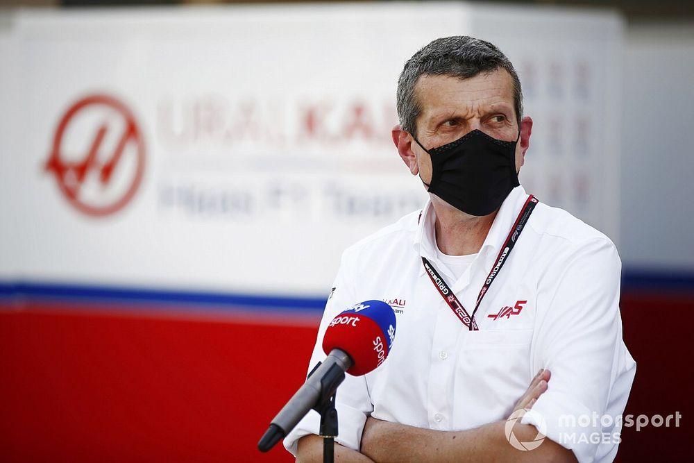 """Steiner: """"Difficile"""" de parler avec les pilotes Haas"""