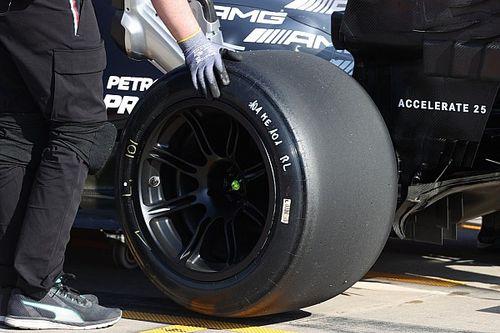 Hamilton ha finito due GP a Imola con le Pirelli da 18