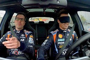 "Vídeos: Hyundai reta a sus pilotos ""a ciegas"""