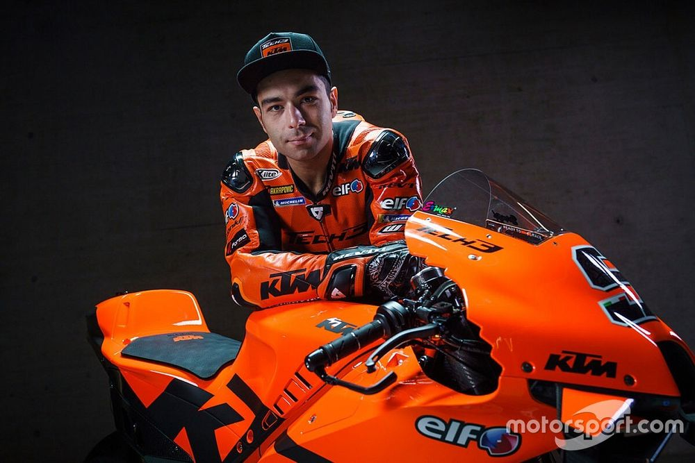 """Petrucci was first to """"believe"""" in KTM's promise"""