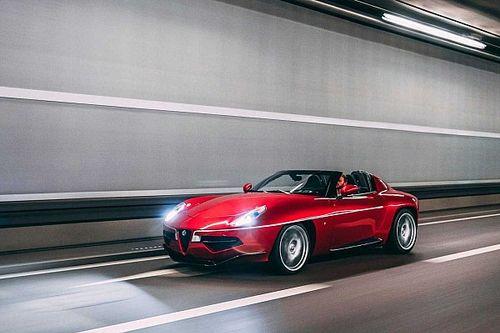 Un exclusivo Alfa Romeo Disco Volante Spyder, a subasta