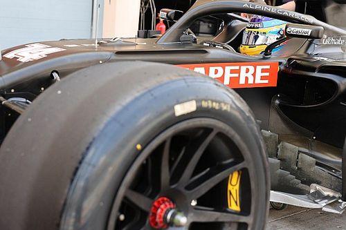 Alonso completa 144 vueltas con los Pirelli de 18 pulgadas