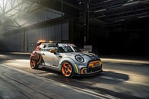 Formula E reveals electric Mini safety car for select races