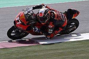 Moto3ドーハ決勝:アコスタ、デビュー2戦目でMoto3初優勝! ビットレーンスタート物ともせず大逆転