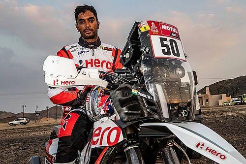 CS Santosh despierta del coma tras caerse en el Dakar
