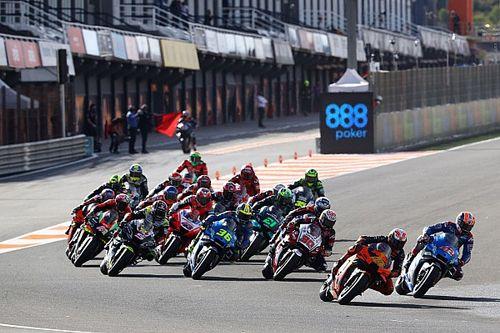 Fotos: la salida de los 14 grandes premios de MotoGP 2020