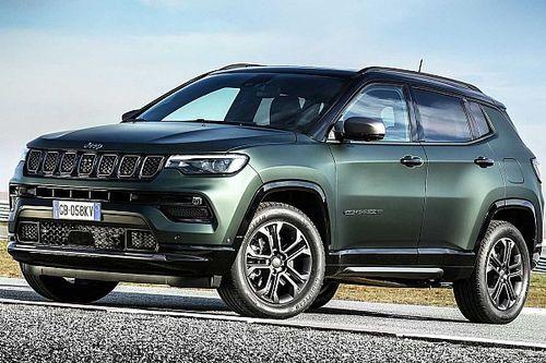 Novo Jeep Compass 2022 estreia na Europa com série 80 anos que virá ao Brasil
