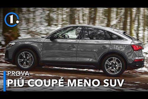 Audi Q5 Sportback, la prova del SUV diventato coupé