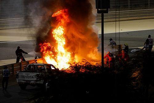 Galeri: Grosjean'ın korkutucu kazası