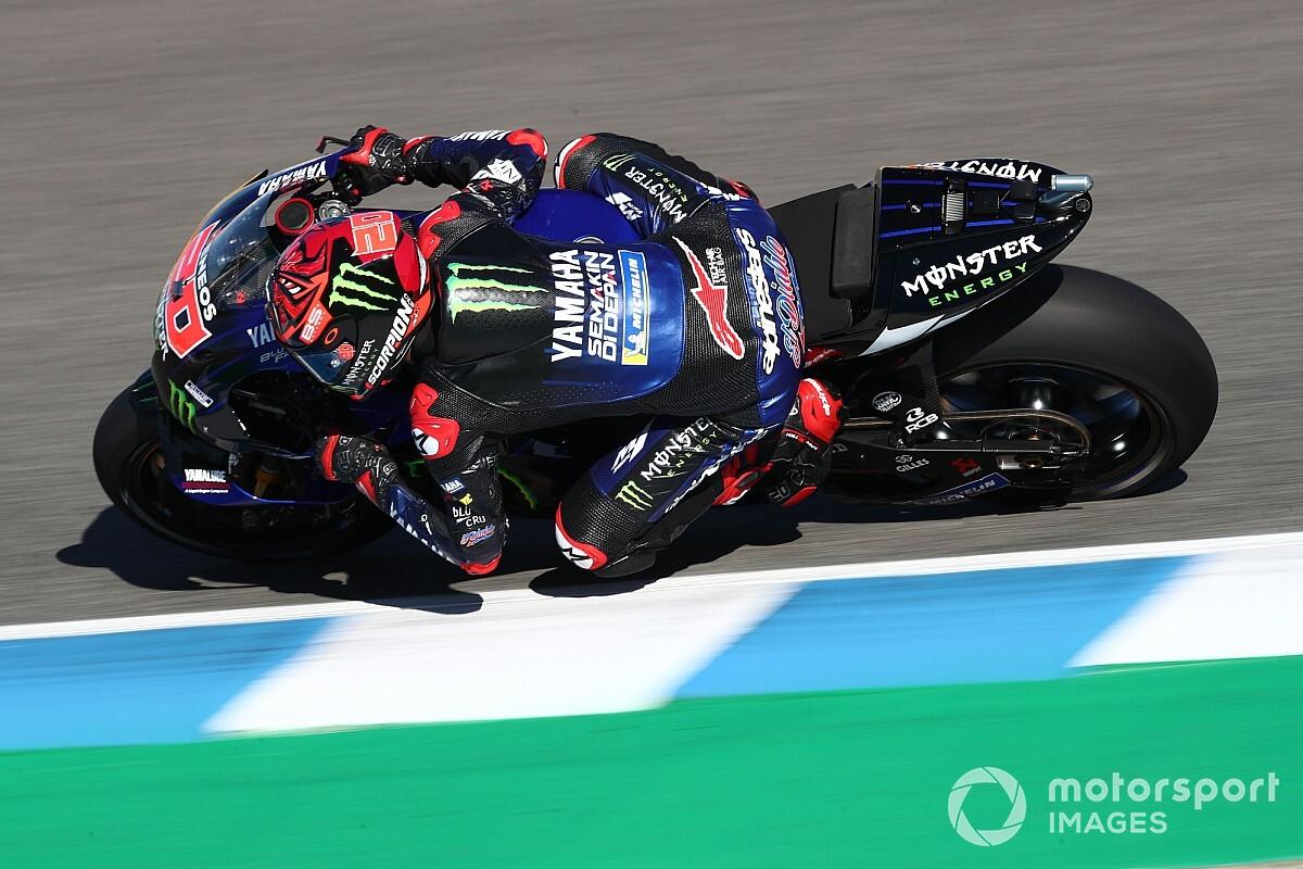 MOTO GP GRAND PRIX D'ESPAGNE 2021 Fabio-quartararo-yamaha-factor