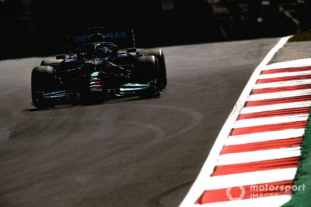 F1: Hamilton admite dificuldades para encontrar equilíbrio com Mercedes em Portimão