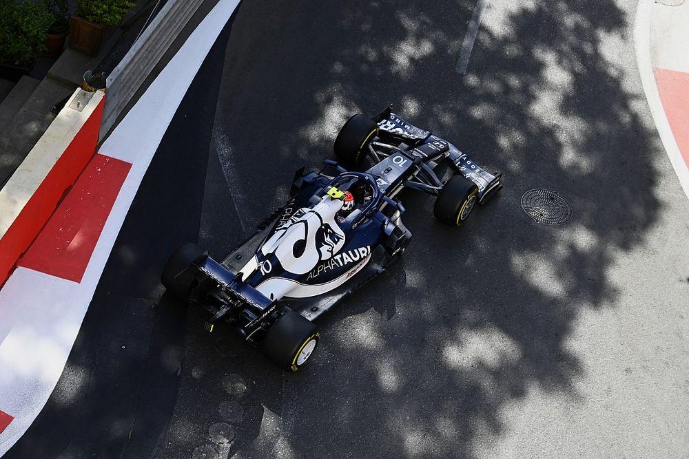 F1 Azerbaijan GP: Gasly tops FP3 as Verstappen causes red flag
