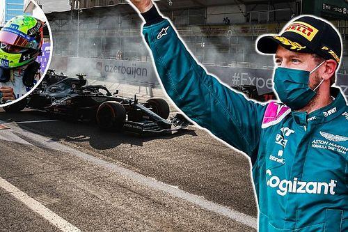 Leclerc: Nagyon örülök Vettel sikerének!