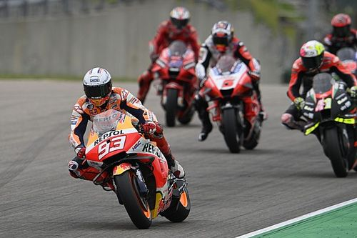 German MotoGP: Marquez seals emotional first win since injury comeback