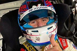 Wickens torna in pista: ha provato la Hyundai TCR a Mid Ohio