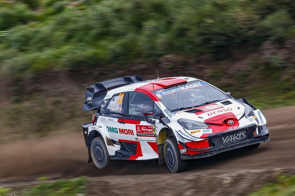 WRC, Rally Portogallo, PS14: Tanak KO, Evans nuovo leader