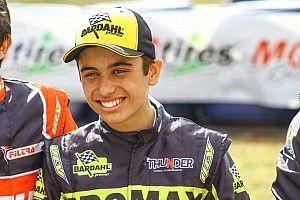 Pedro Aizza, piloto mais jovem da GT Sprint Race, busca evolução na etapa de Goiânia