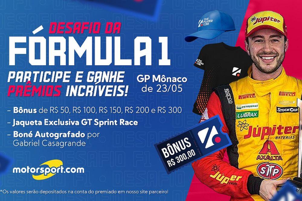 Fantasy ThePlayer Motorsport.com tem apostas abertas para GP de Mônaco de F1