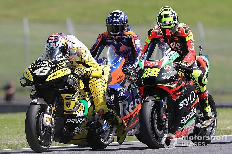 A Miller le falló el dispositivo de salida de la Ducati