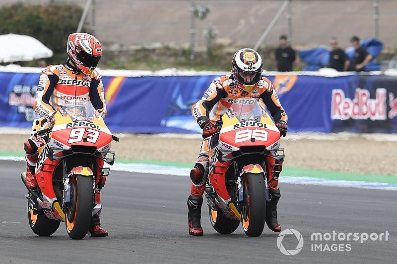 """Márquez: """"Lorenzo tiene un gran talento y seguro que va a llegar"""""""