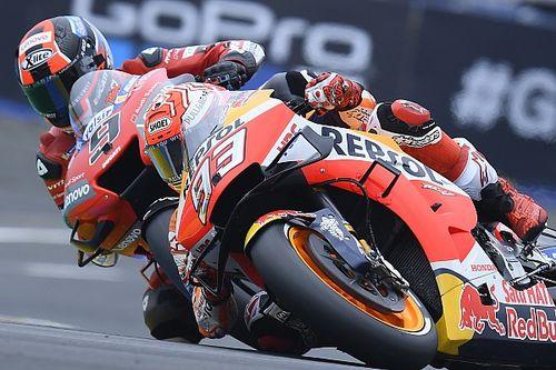 MotoGP, Mugello, Libere 1: Marquez davanti a Petrucci, indietro Dovi e Rossi