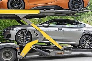 Непрезентовану BMW 8 Series Gran Coupe «спіймали» майже без камуфляжу