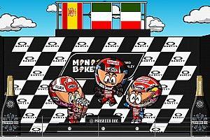 Vídeo: el GP de Italia 2019 de MotoGP, por MiniBikers