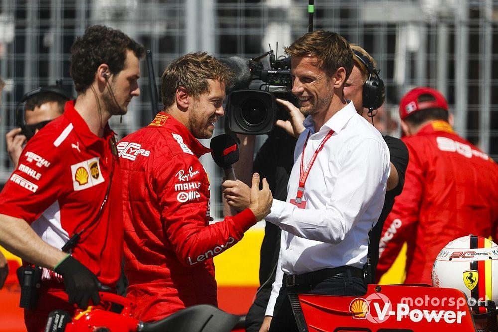 """Button: """"Vettel gibi bir yeteneği kaybetmek üzücü olur"""""""