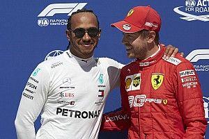 Óriási jelenet: Vettel szerint Hamilton jóképű (videó)