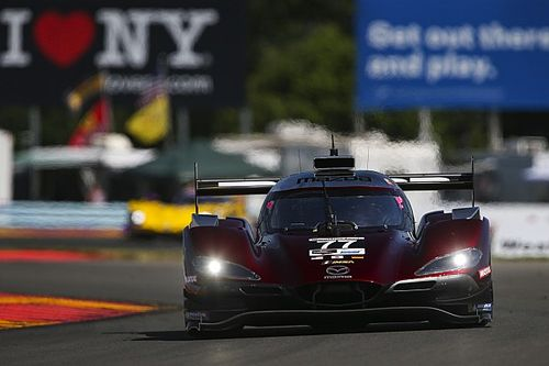 Watkins Glen IMSA: Mazda leads wet-but-drying practice