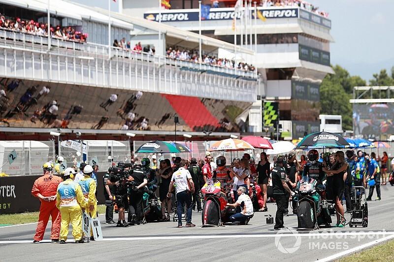Catalunya da por suspendida su carrera de MotoGP