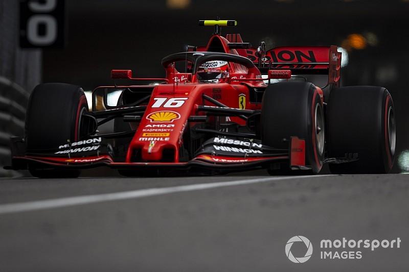 Monaco GP 3. antrenman: Leclerc en hızlısı, Vettel kaza yaptı!