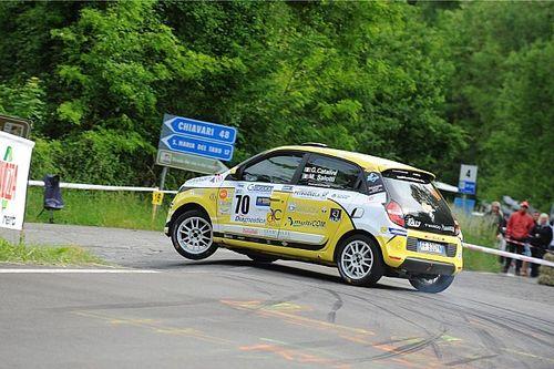 Catalini vince nel Trofeo Twingo R1 Internazionale al 26° Rally del Taro