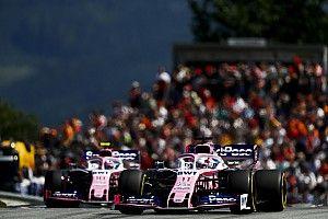 A Racing Point kiesett a Q1-ben, de nem ennyire gyengék