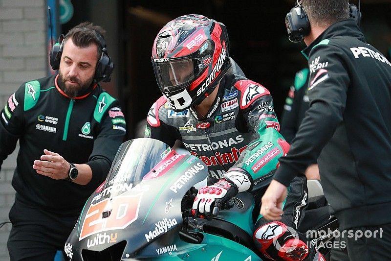 Quartararo supera a Márquez en la primera práctica de Sachsenring