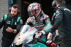 Quartararo pone en jaque a Márquez en la toma de contacto en Sachsenring