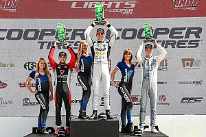 Road America Road To Indy: Norman, VeeKay take Lights wins