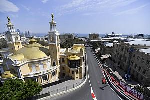 Leclerc zet de toon tijdens tweede training Baku, Verstappen P4