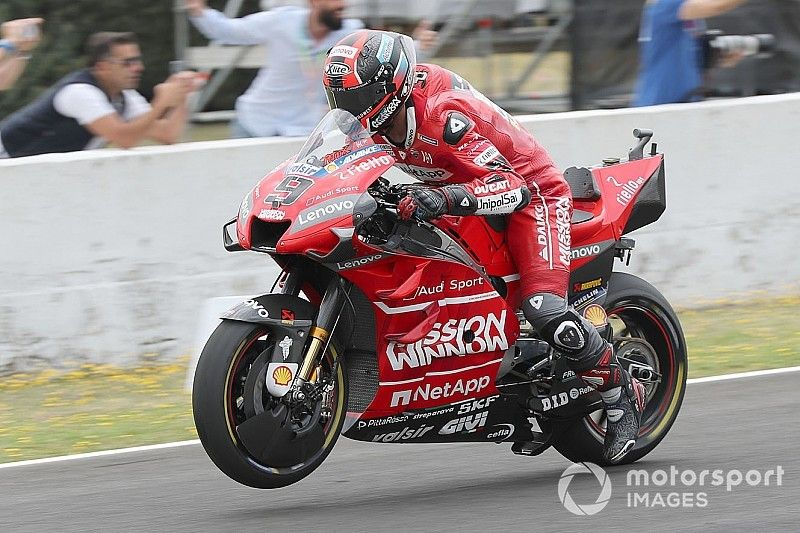 Ducati to remove Mission Winnow branding for French GP