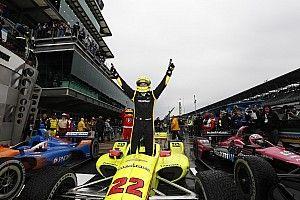 Pagenaud se lleva una brillante victoria sobre pista húmeda en el IMS