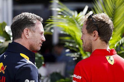 """Chefe da Red Bull diz que F1 não está vendo o """"verdadeiro"""" Vettel em 2020"""