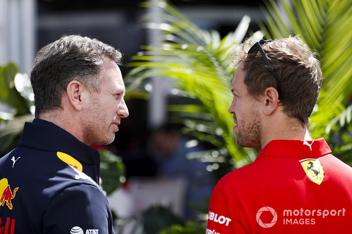 "Red Bull dynamic wouldn't work with two ""alpha males"" - Horner"