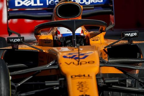 "Sainz logra, ""por fin"", sus primeros puntos con McLaren"
