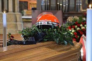 Képeken Niki Lauda búcsúztatója