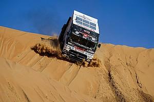 Látványos képeken a Dakar Rali végjátéka