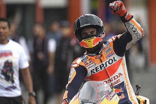 Marquez a hajrában már variált a győzelemért