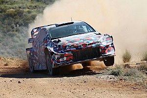 Szutrowe testy nowego Yarisa WRC