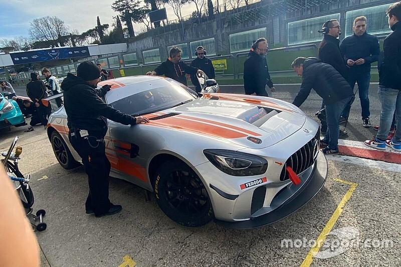 GT Italiano: Bettera nel GT4 con la Mercedes della Nova Race