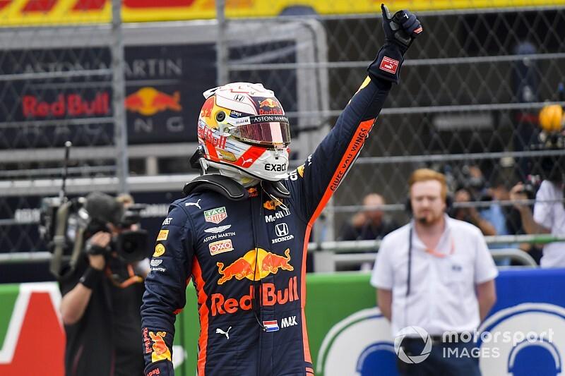 Verstappen desbanca Ferraris e conquista pole para GP do México