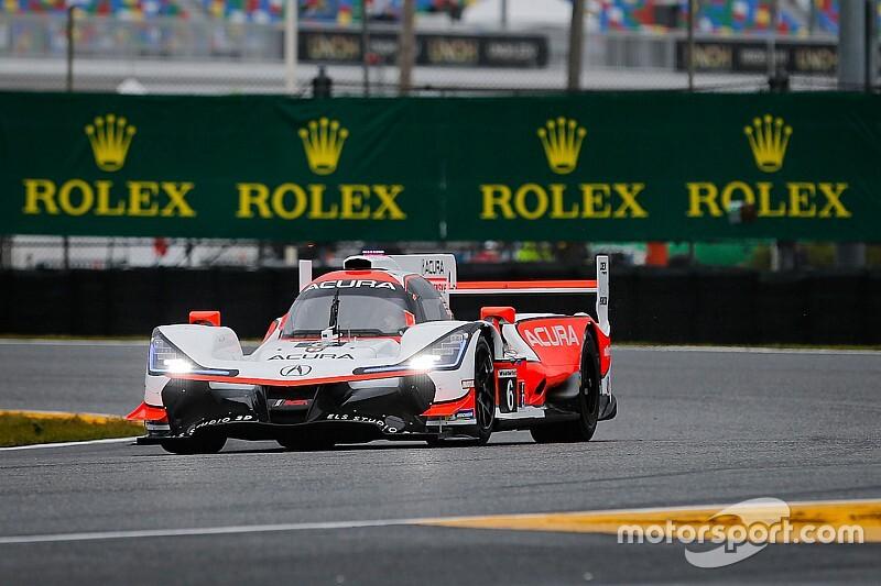 Rolex 24: Montoya's Acura tops wet opening practice
